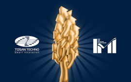 کسب رتبه ۱۷۷ توسط توسنتکنو در لیست ۵۰۰ شرکت برتر ایران
