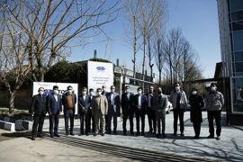 بازدید عضو هیئتمدیره و مدیران ارشد بانک ملی ایران و گروه سداد از سایت تولید شرکت توسنتکنو