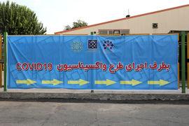 واکسیناسیون پرسنل فاوای شهرداری تهران